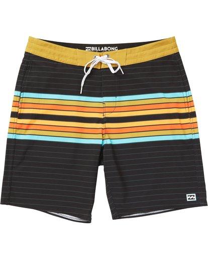 Billabong Mens Lo Tide Stretch Boardshorts Black Spinner