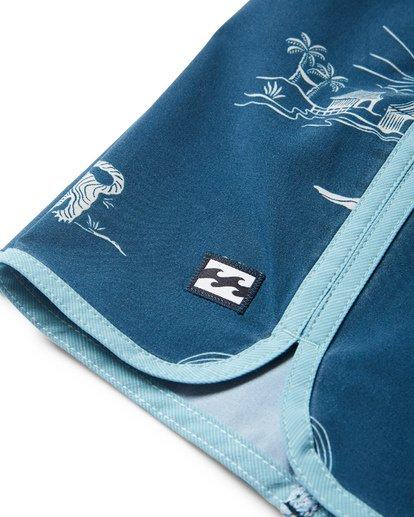 4 73 Lineup LT Boardshorts Blue M143TBSL Billabong