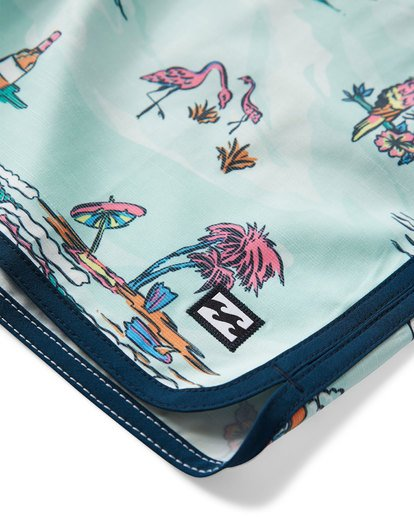6 73 Lineup LT Boardshorts Green M143TBSL Billabong