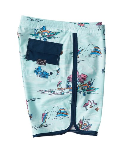 2 73 Lineup LT Boardshorts Green M143TBSL Billabong