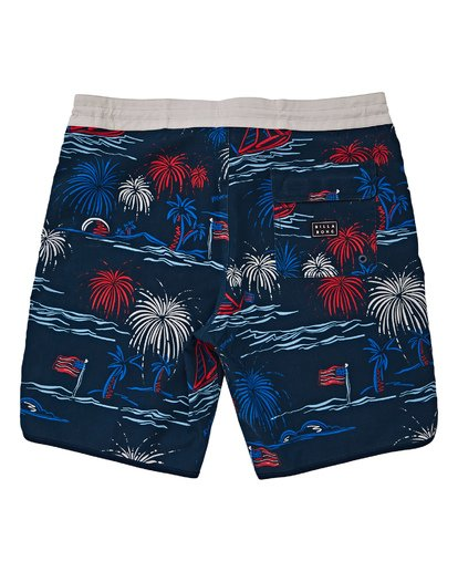 1 73 Lineup LT Boardshorts Red M143TBSL Billabong