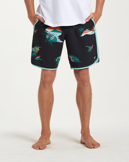6 73 Lineup LT Boardshorts Black M143TBSL Billabong