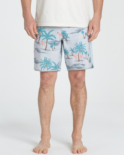 2 73 Lineup LT Boardshorts Grey M143TBSL Billabong
