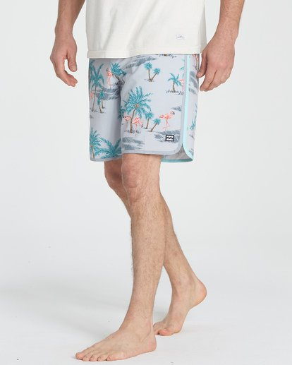 4 73 Lineup LT Boardshorts Grey M143TBSL Billabong