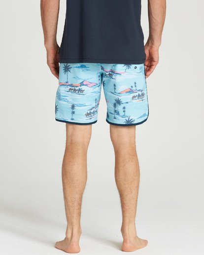 5 73 Lineup LT Boarshorts Blue M143TBSL Billabong