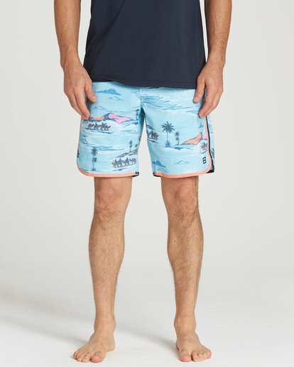 4 73 Lineup LT Boarshorts Blue M143TBSL Billabong