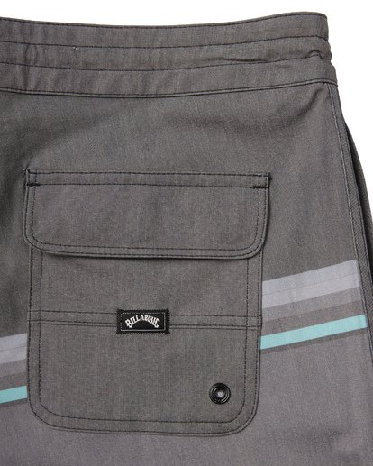 6 73 Spinner Lo Tides Boardshorts Black M1441BSL Billabong