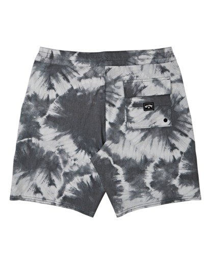 1 All Day Riot Lo Tides Boardshorts White M1451BRL Billabong