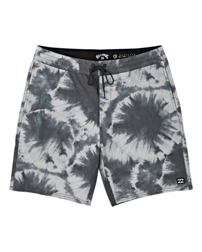 0 All Day Riot Lo Tides Boardshorts White M1451BRL Billabong