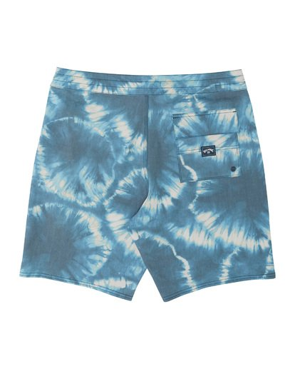 1 All Day Riot Lo Tides Boardshorts Blue M1451BRL Billabong