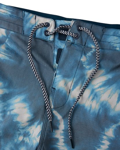 4 All Day Riot Lo Tides Boardshorts Blue M1451BRL Billabong