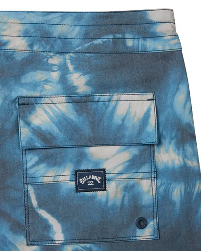 6 All Day Riot Lo Tides Boardshorts Blue M1451BRL Billabong