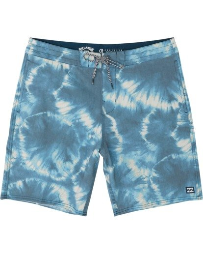 0 All Day Riot Lo Tides Boardshorts Blue M1451BRL Billabong