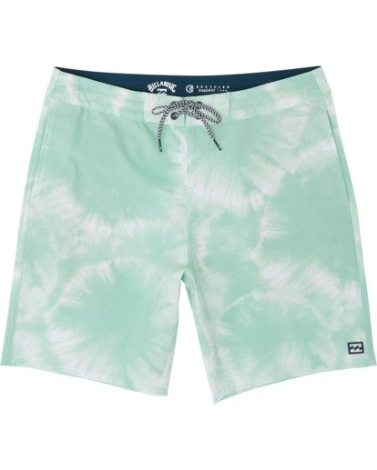 "0 All Day Riot Lo Tides Boardshort 19"" Green M1451BRL Billabong"