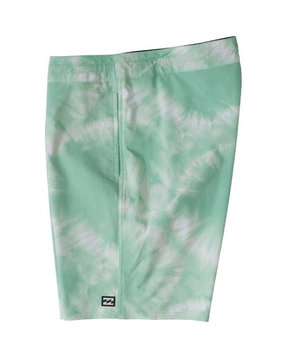 "2 All Day Riot Lo Tides Boardshort 19"" Green M1451BRL Billabong"