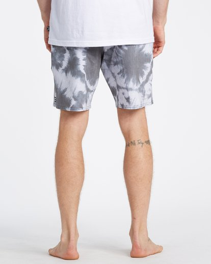5 All Day Riot Lo Tides Boardshorts White M1451BRL Billabong