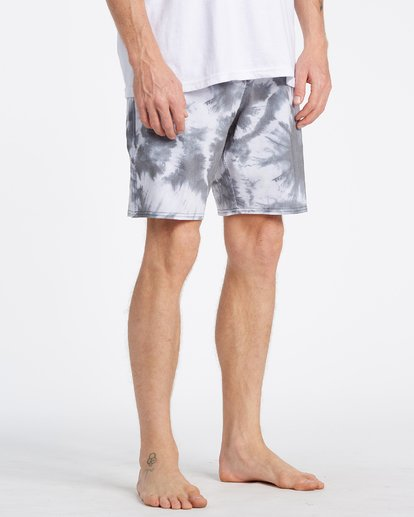 4 All Day Riot Lo Tides Boardshorts White M1451BRL Billabong