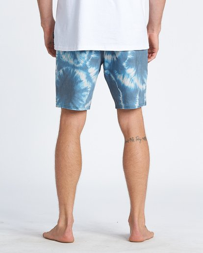 9 All Day Riot Lo Tides Boardshorts Blue M1451BRL Billabong
