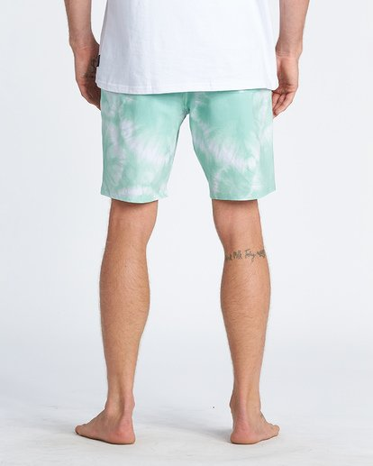 "9 All Day Riot Lo Tides Boardshort 19"" Green M1451BRL Billabong"