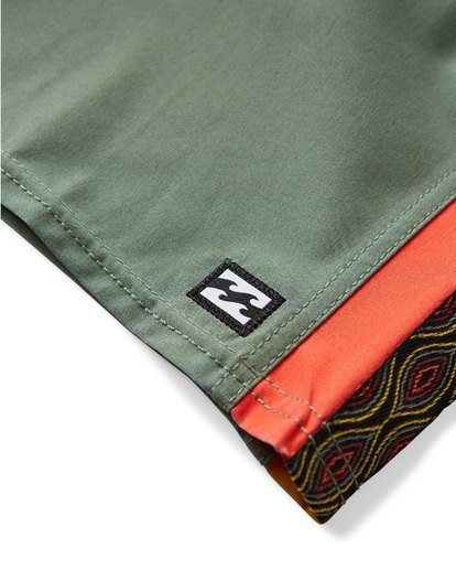 7 D Bah LT Boardshorts Green M145TBDB Billabong