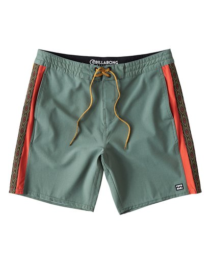 0 D Bah LT Boardshorts Green M145TBDB Billabong
