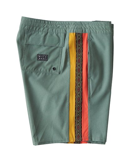 2 D Bah LT Boardshorts Green M145TBDB Billabong