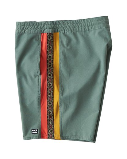 3 D Bah LT Boardshorts Green M145TBDB Billabong