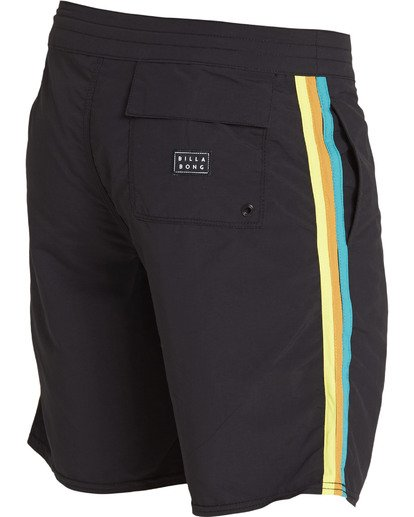 3 D Bah LT Boardshorts Black M145TBDB Billabong