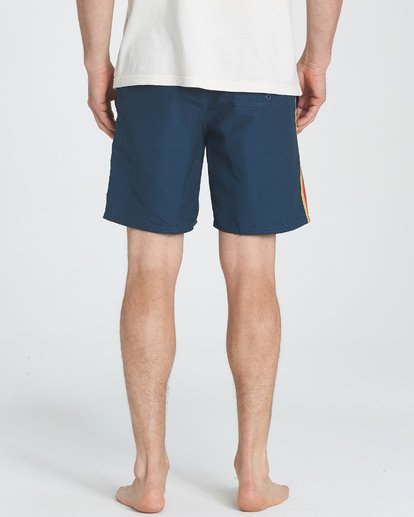5 D Bah LT Boardshorts Blue M145TBDB Billabong
