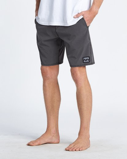 8 All Day Lo Tides Boardshorts Black M1461BAL Billabong