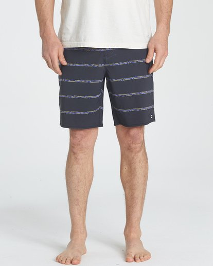 2 Sundays Stripe LT Boardshorts Grey M146UBLS Billabong