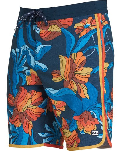 1 73 Lo Tides Lineup Boardshorts Orange M147NBST Billabong