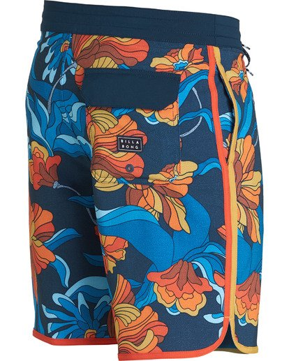 2 73 Lo Tides Lineup Boardshorts Orange M147NBST Billabong