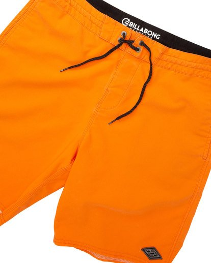 4 All Day Lo Tide Boardshorts Orange M147TBAE Billabong