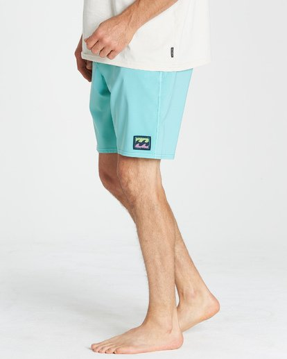 10 All Day LT Boardshorts Blue M147VBAT Billabong