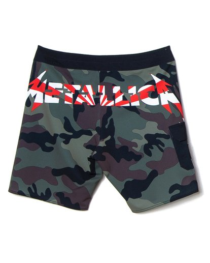 "0 AI Metallica Boardshort 19"" Black M1501BMA Billabong"