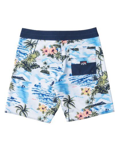 1 Sundays Airlite Hawaii Boardshorts Blue M1511BSA Billabong