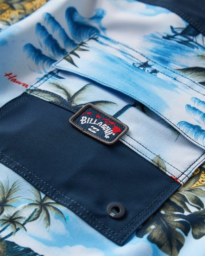 5 Sundays Airlite Hawaii Boardshorts Blue M151VBSA Billabong