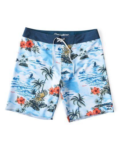 0 Sundays Airlite Hawaii Boardshorts Blue M151VBSA Billabong