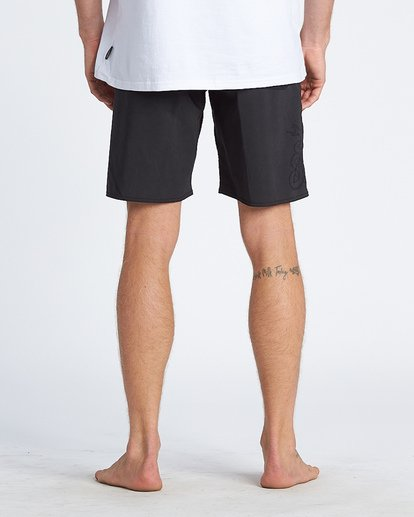 7 Black Album Boardshorts Black M152WBBA Billabong