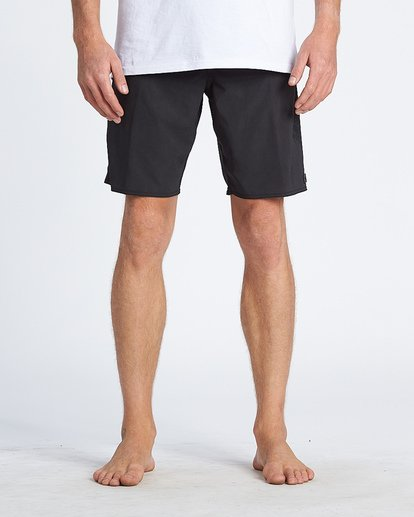 4 Black Album Boardshorts Black M152WBBA Billabong