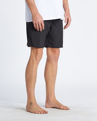 6 Black Album Boardshorts Black M152WBBA Billabong
