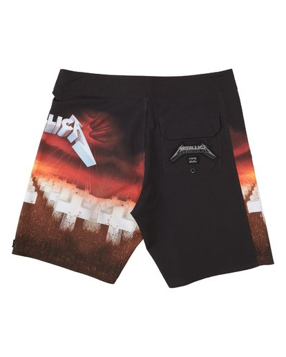 1 Master Of Puppets Boardshorts Red M1531BMP Billabong
