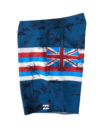 2 Tribong Pro Hawaii Boardshorts Blue M153VBTP Billabong
