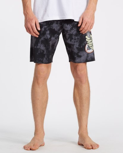 4 Metallica Shortest Straw Boardshorts  M1551BSS Billabong