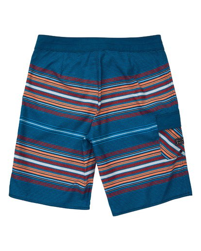 1 All Day Stripe OG Boardshorts Blue M160TBAD Billabong