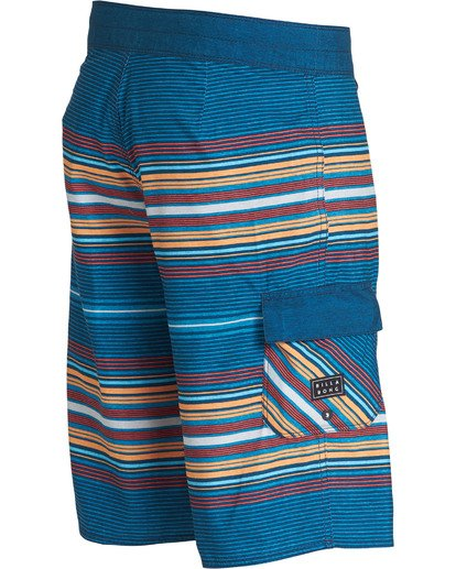 3 All Day Stripe OG Boardshorts Blue M160TBAD Billabong
