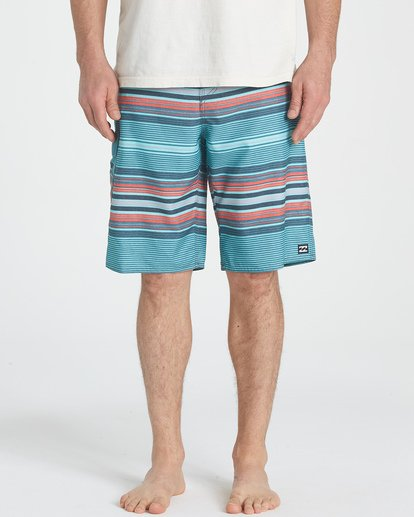 2 All Day Stripe OG Boardshorts Blue M160TBAD Billabong