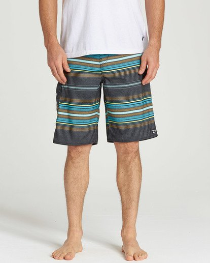 4 All Day Stripe OG Boardshorts  M160TBAD Billabong