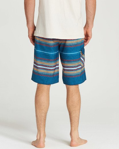 5 All Day Stripe OG Boardshorts Blue M160TBAD Billabong